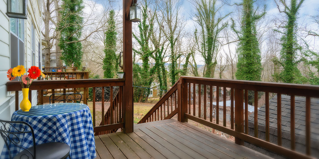 Blue Ridge Room porch
