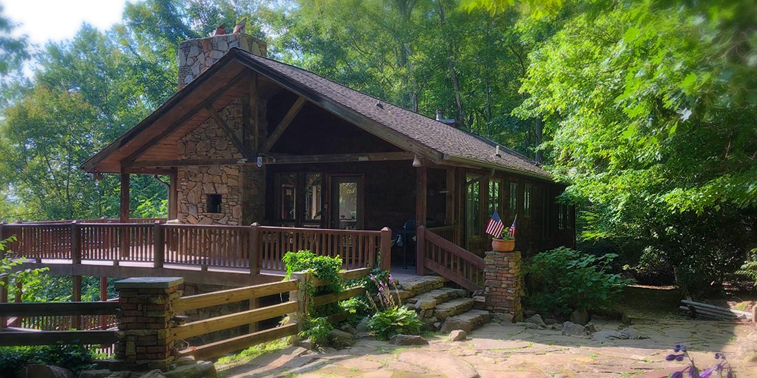 Mountain Vista Cabin Rental