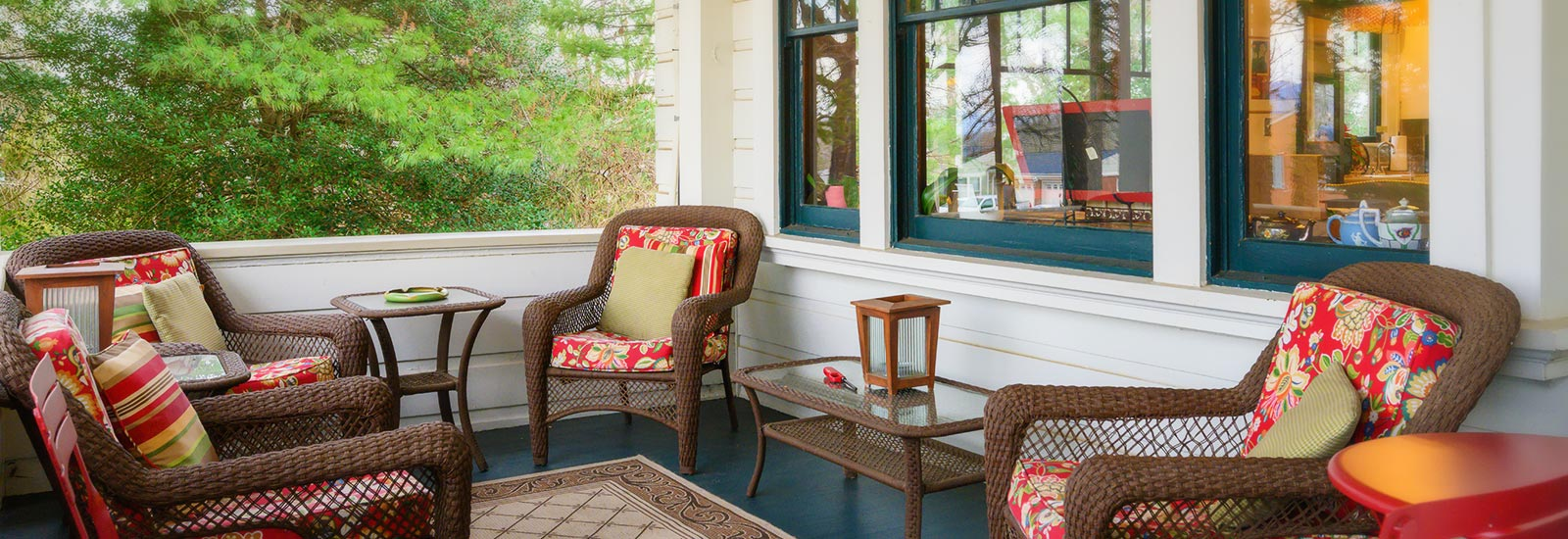 Oakland Cottage porch